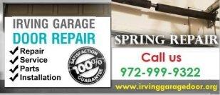 Garage Door Spring repair | Garage Door Service 75039 , Texas