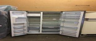 Beautiful stainless steel double door refrigerator