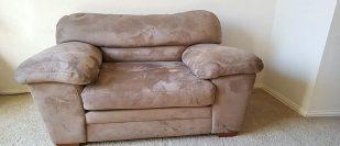 Microfiber Sofa Set in Plano