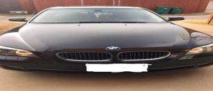 BMW 528i Black Exterior with Beige Interior
